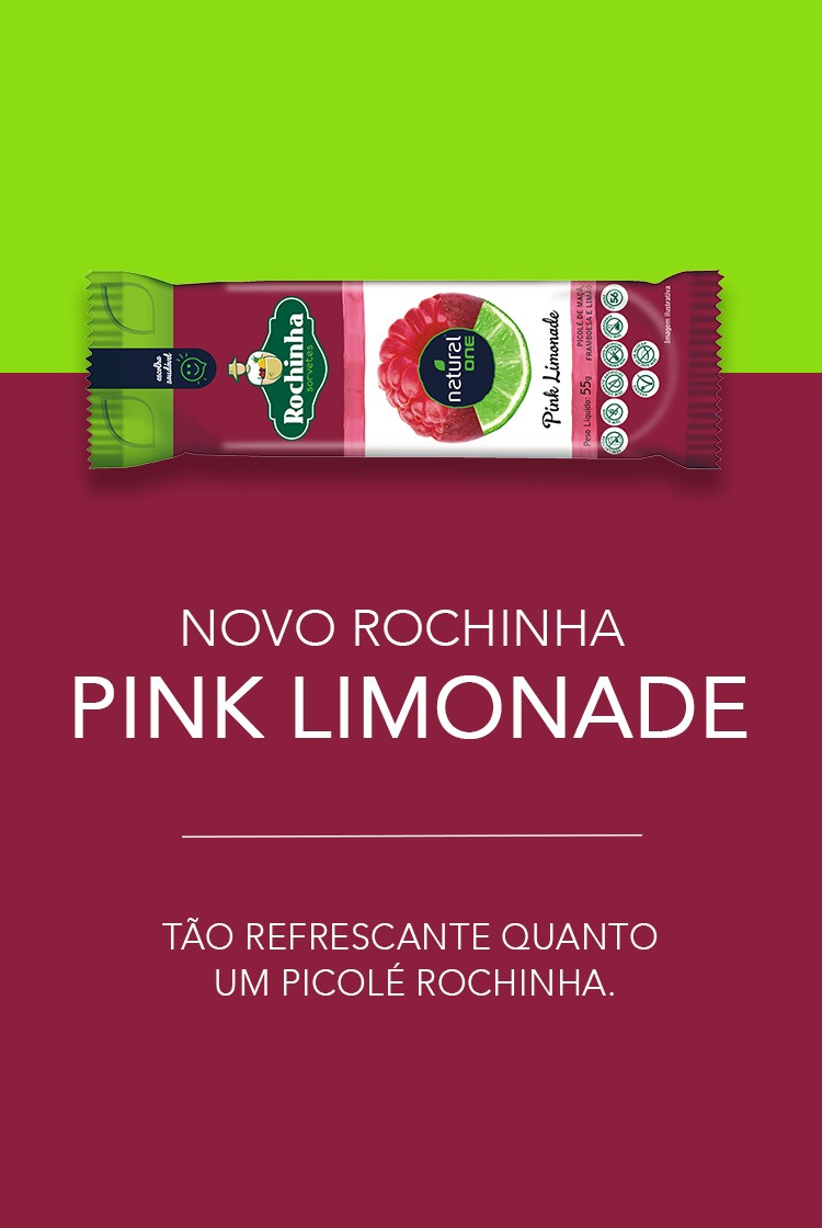 Picolé de Pink Limonade