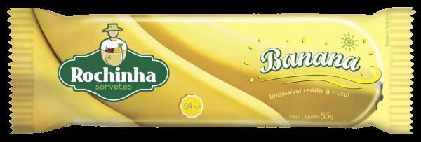 Picolé de Banana - Rochinha