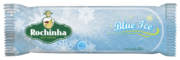 Picolé Blue Ice - Rochinha