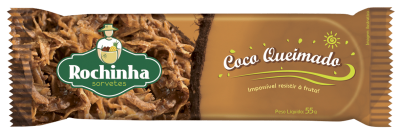 Picolé de Coco Queimado - Rochinha