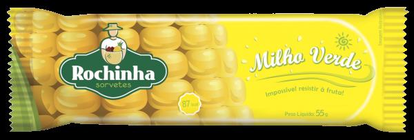 Picolé de Milho Verde - Rochinha