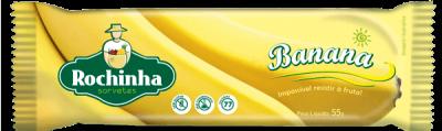 Picolé de Banana - Sorvetes Rochinha