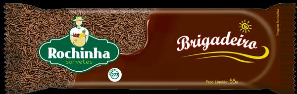 Picolé de Brigadeiro - Sorvetes Rochinha