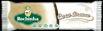Picolé de Coco Branco - Sorvetes Rochinha