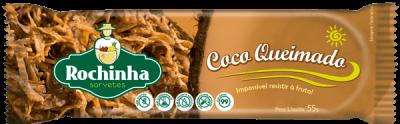 Picolé de Coco queimado - Sorvetes Rochinha