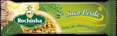 Picolé de Suco Verde