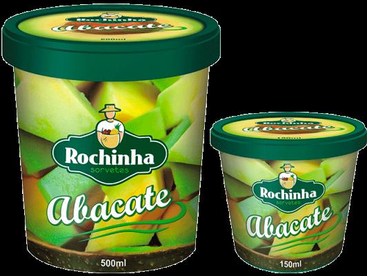 Pote - Abacate - Sorvetes Rochinha