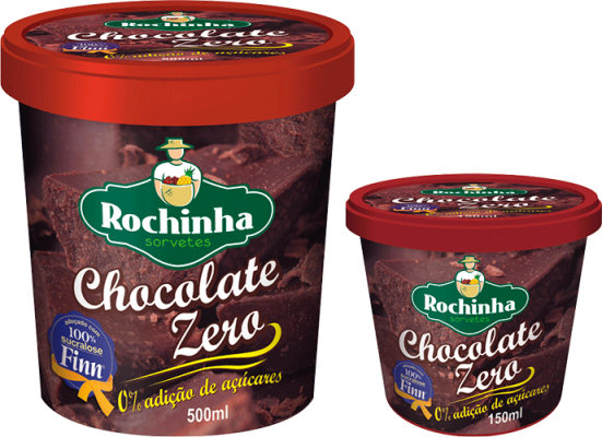 Pote - Chocolate Zero - Sorvetes Rochinha