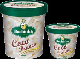 Pote - Coco Branco - Sorvetes Rochinha