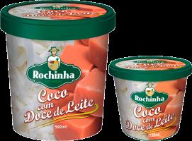 Pote - Coco com Doce de Leite - Sorvetes Rochinha