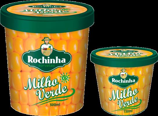 Pote - Milho Verde - Sorvetes Rochinha